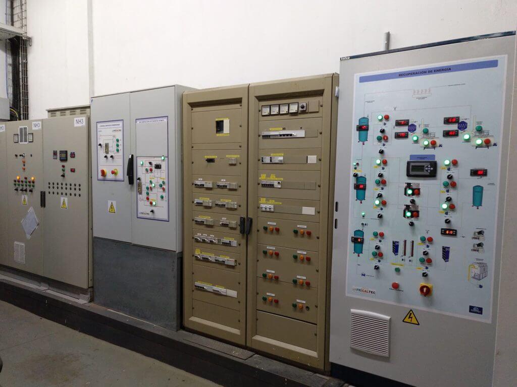 Control de Central de Refrigeración