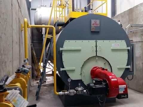 Sala de calderas de Vapor Ok Company