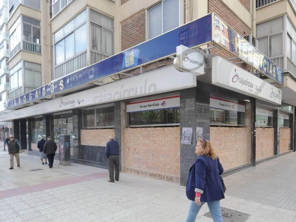 Climatización de sucursal bancaria