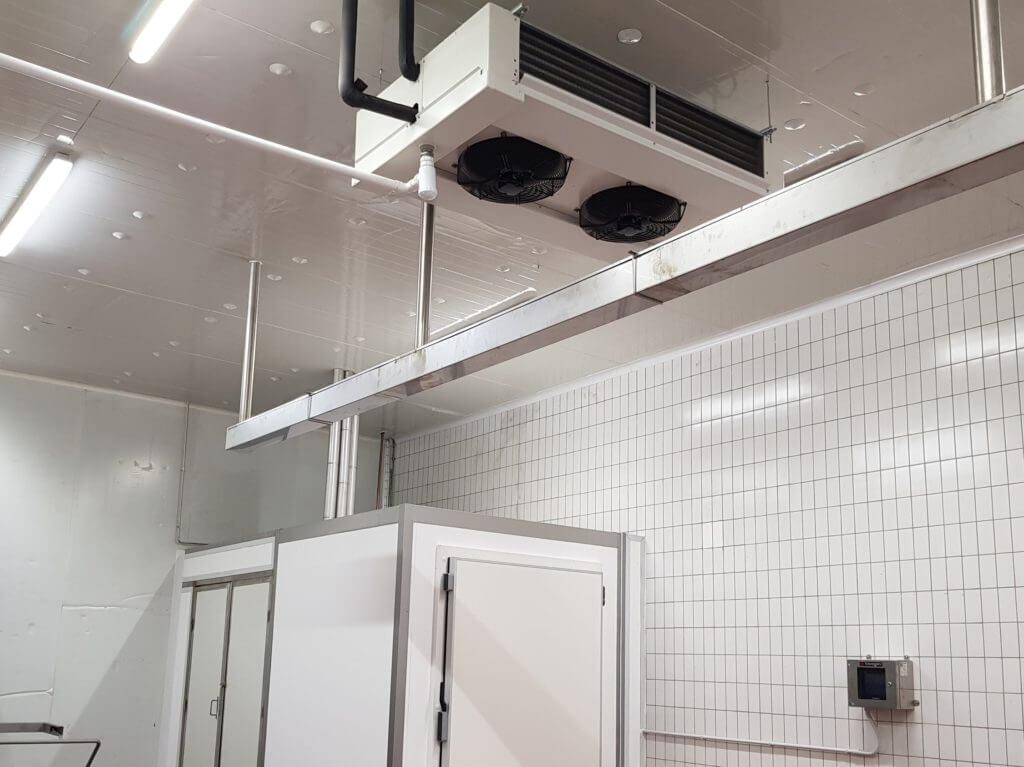 Refrigeración nueva sala de elaborados