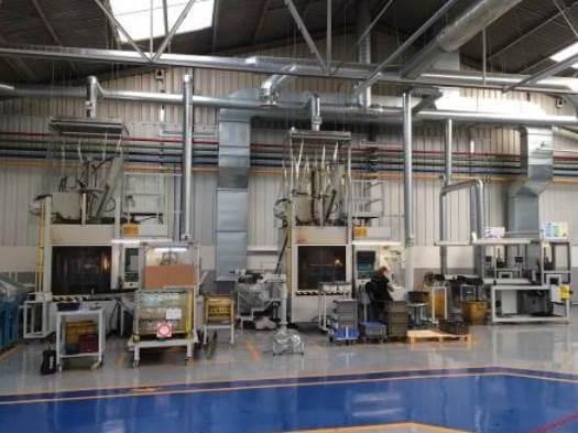 Sistema de extracción de humos Trelleborg
