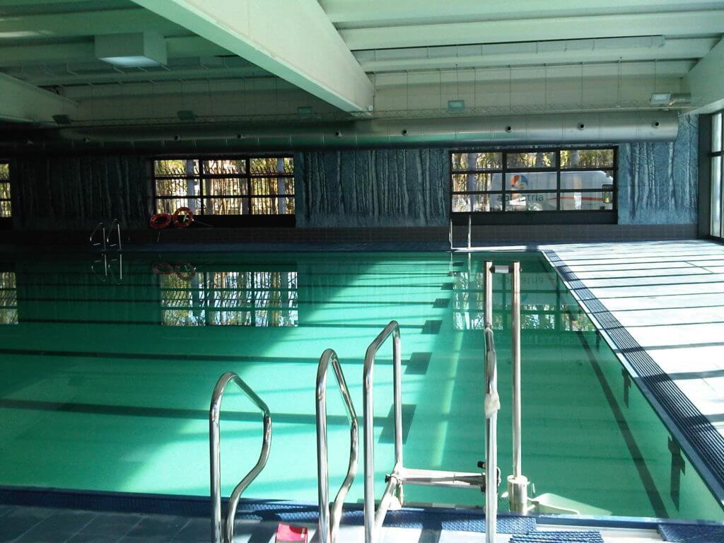 Climatización de piscina