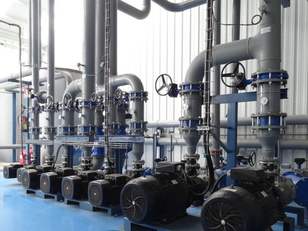 Distribución Agua de Refrigeración Torreplas