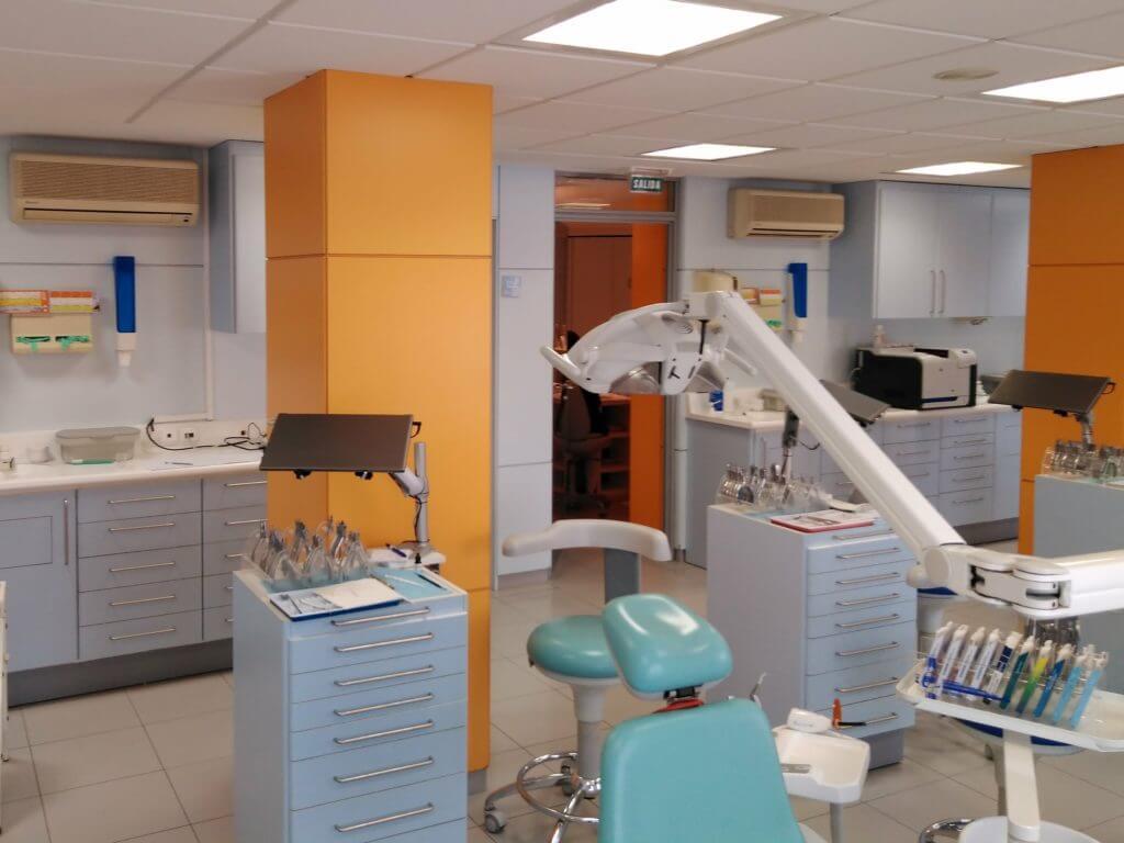 Climatización en Clínica de Ortodoncia