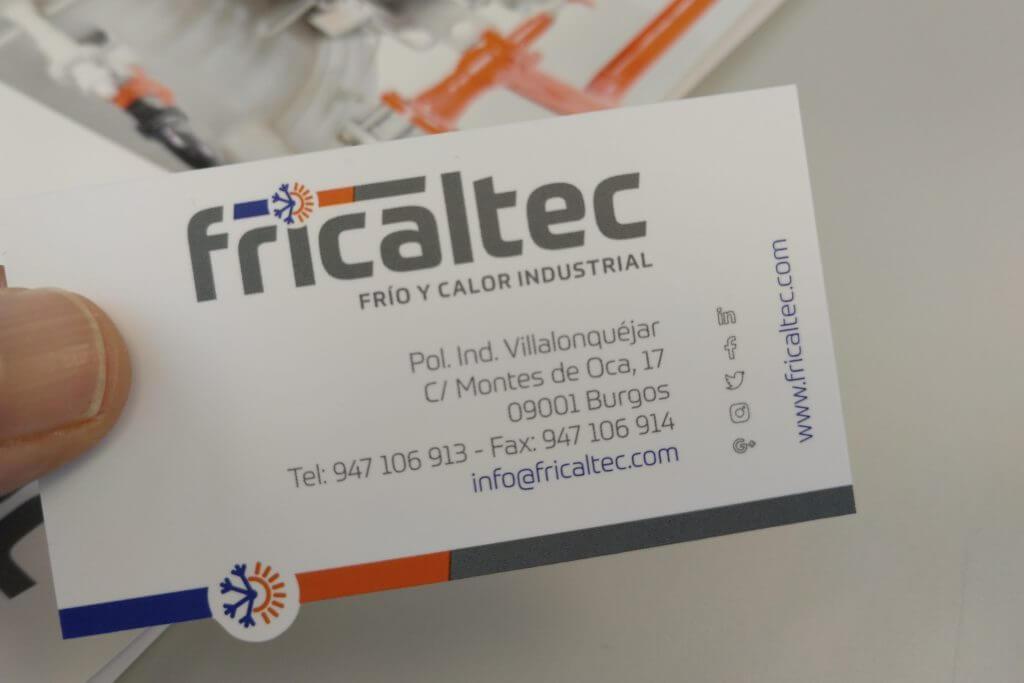 Fricaltec renueva completamente su identidad corporativa en 2018