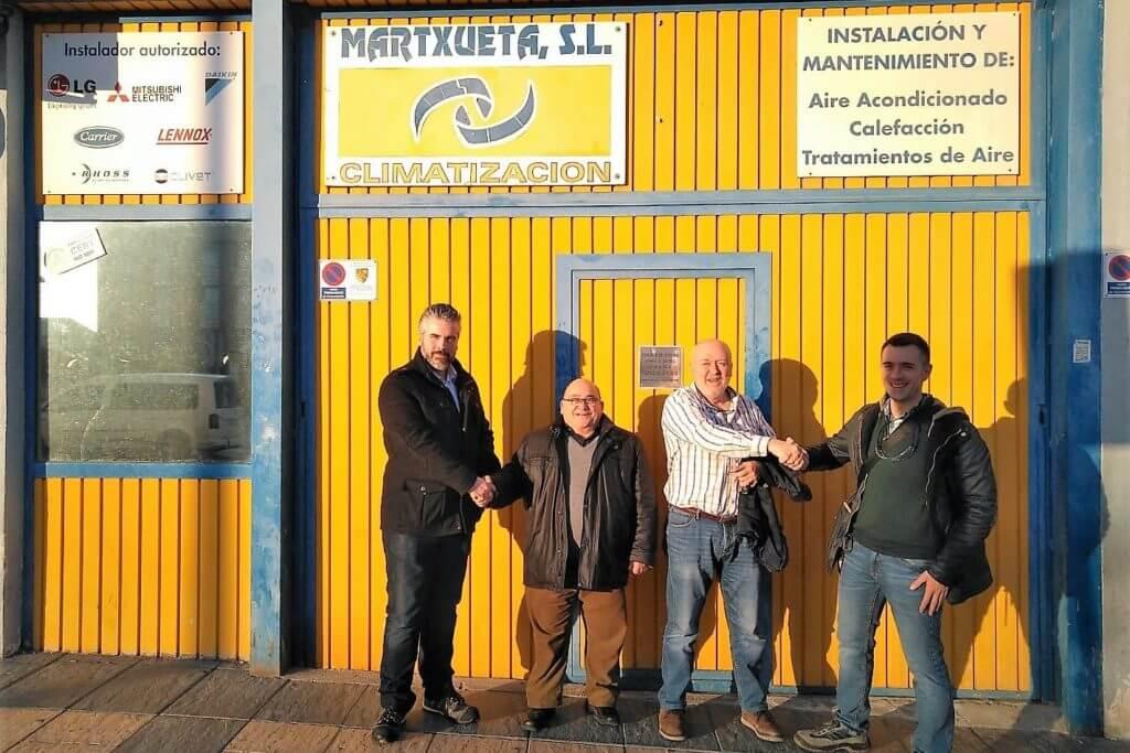 Apertura de nueva delegación Fricaltec-Martxueta en Navarra