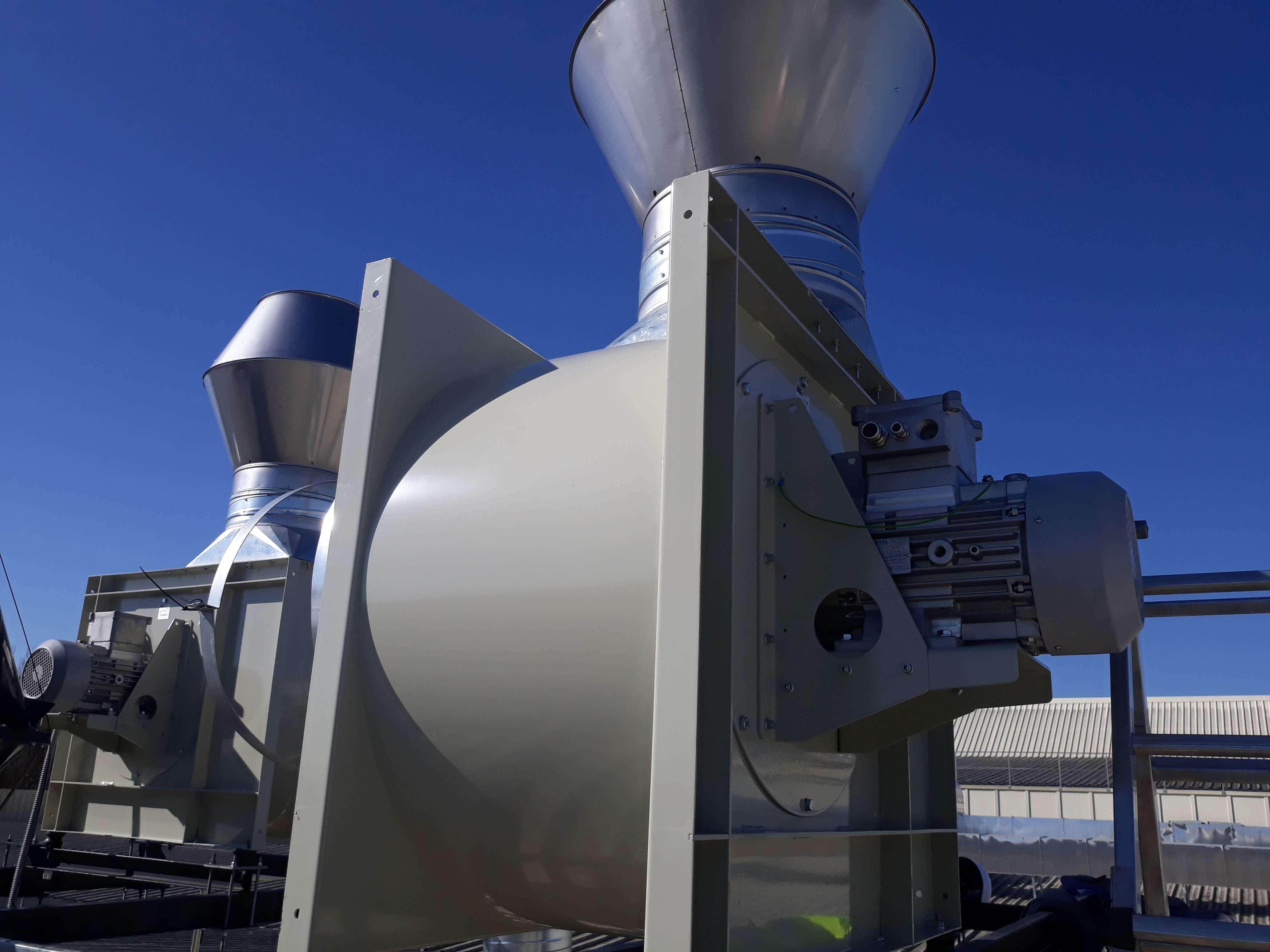 Instalación de Extracción industrial