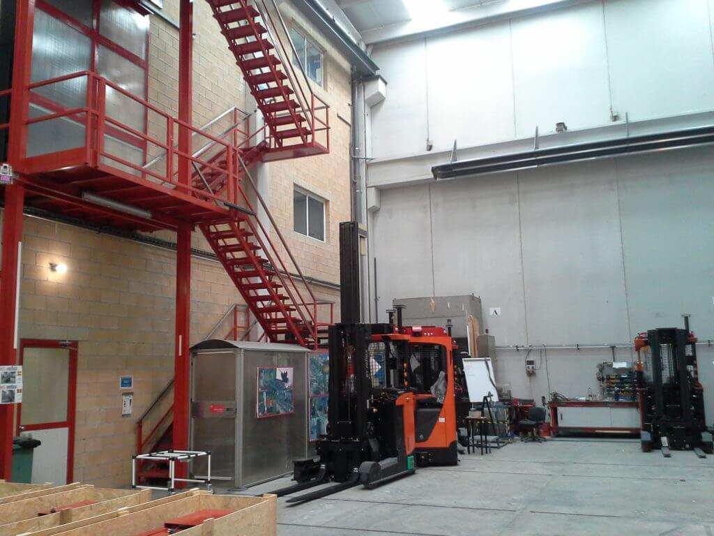 Instalación de calefacción por radiación para Asti.