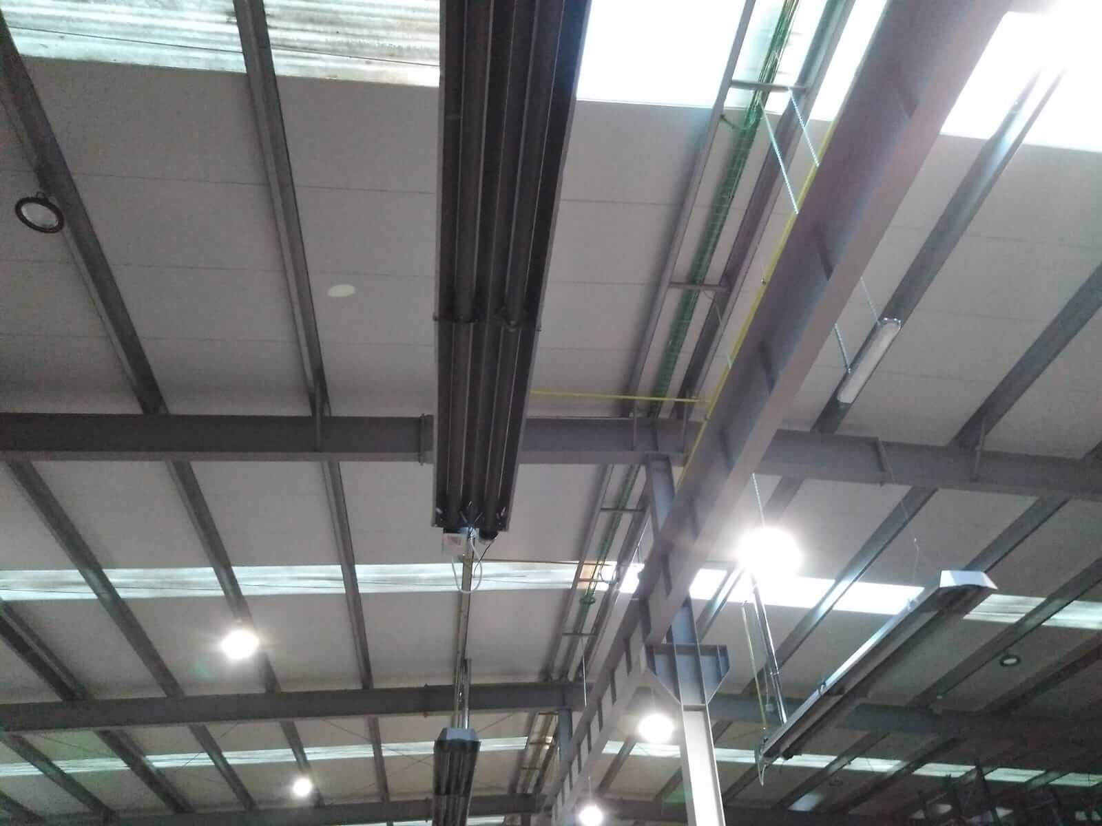 Ventajas de los sistemas de calefacción por radiación en naves industriales y edificios terciarios