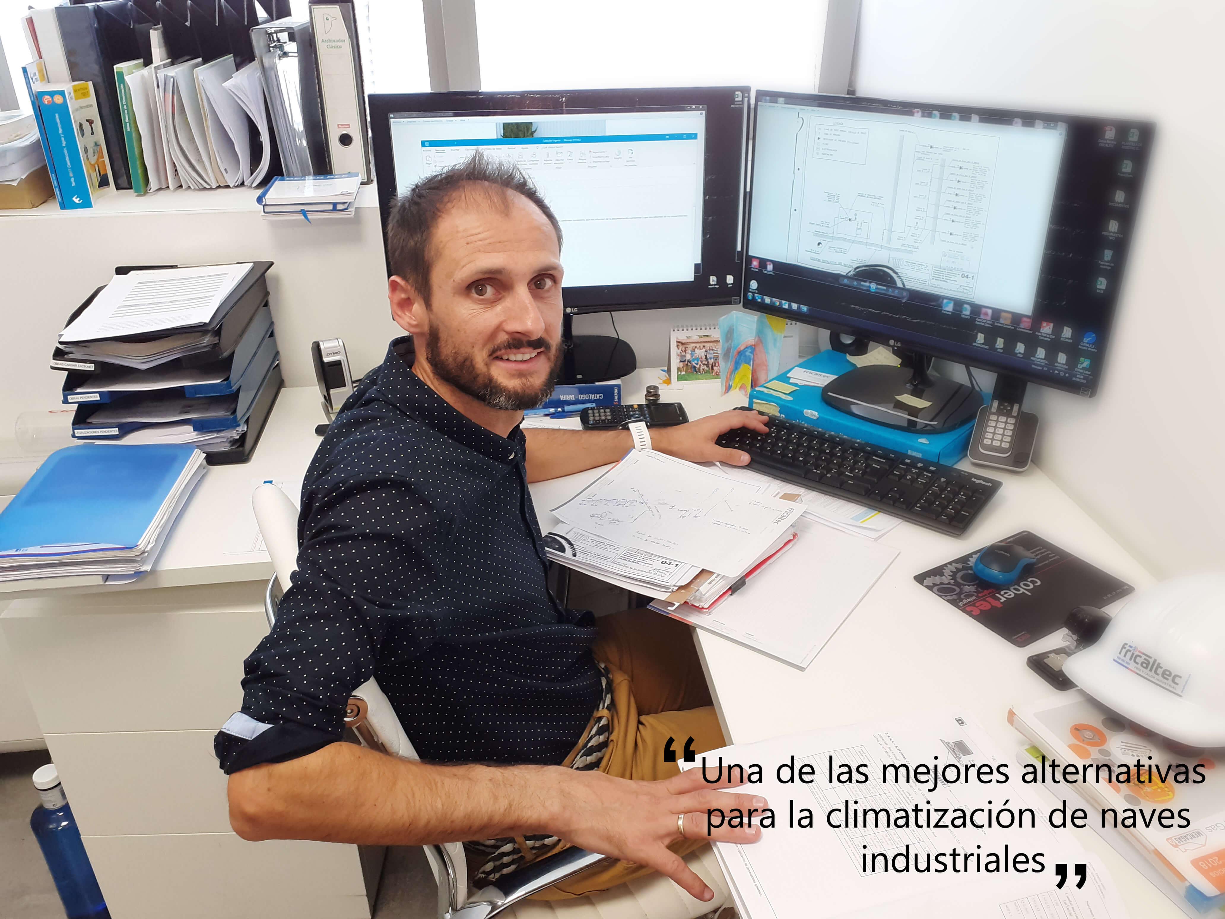 Entrevista a  Johnny Argüelles del dpto. de ingeniería de Fricaltec