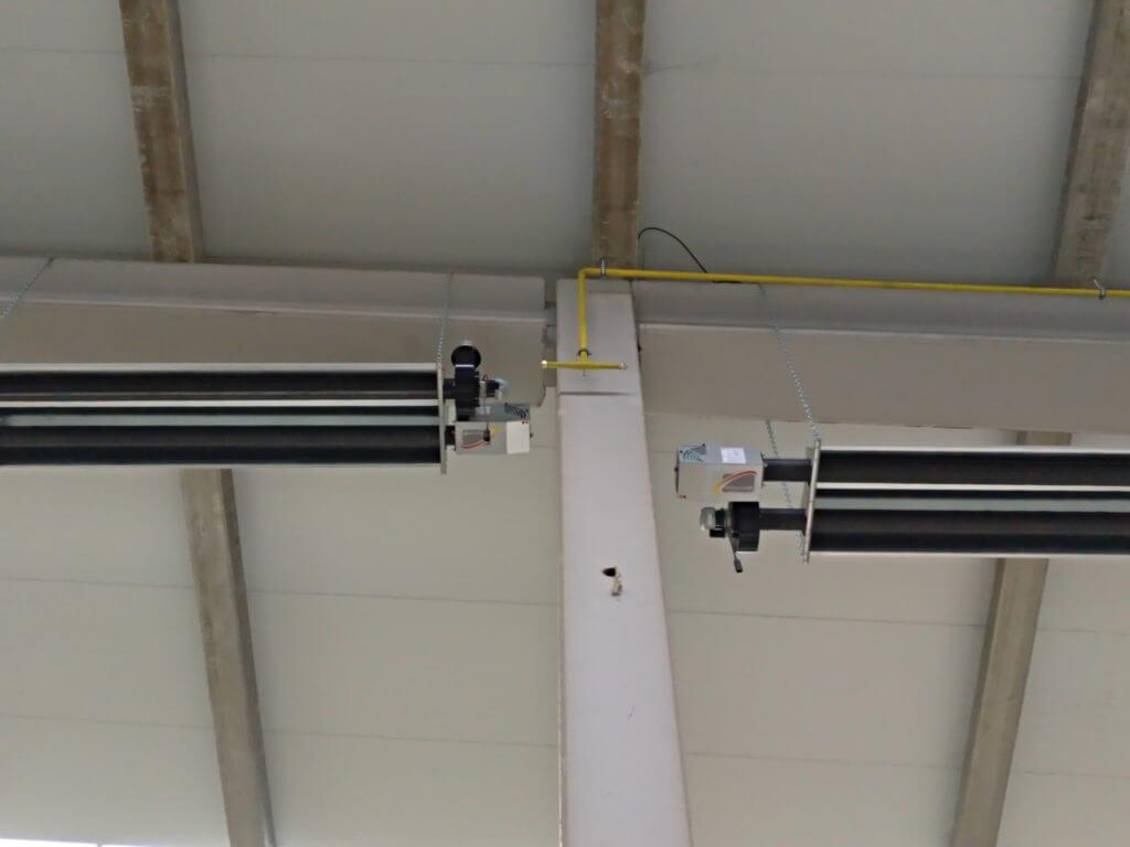 Detalle de los tubos en nave de Quare Design.