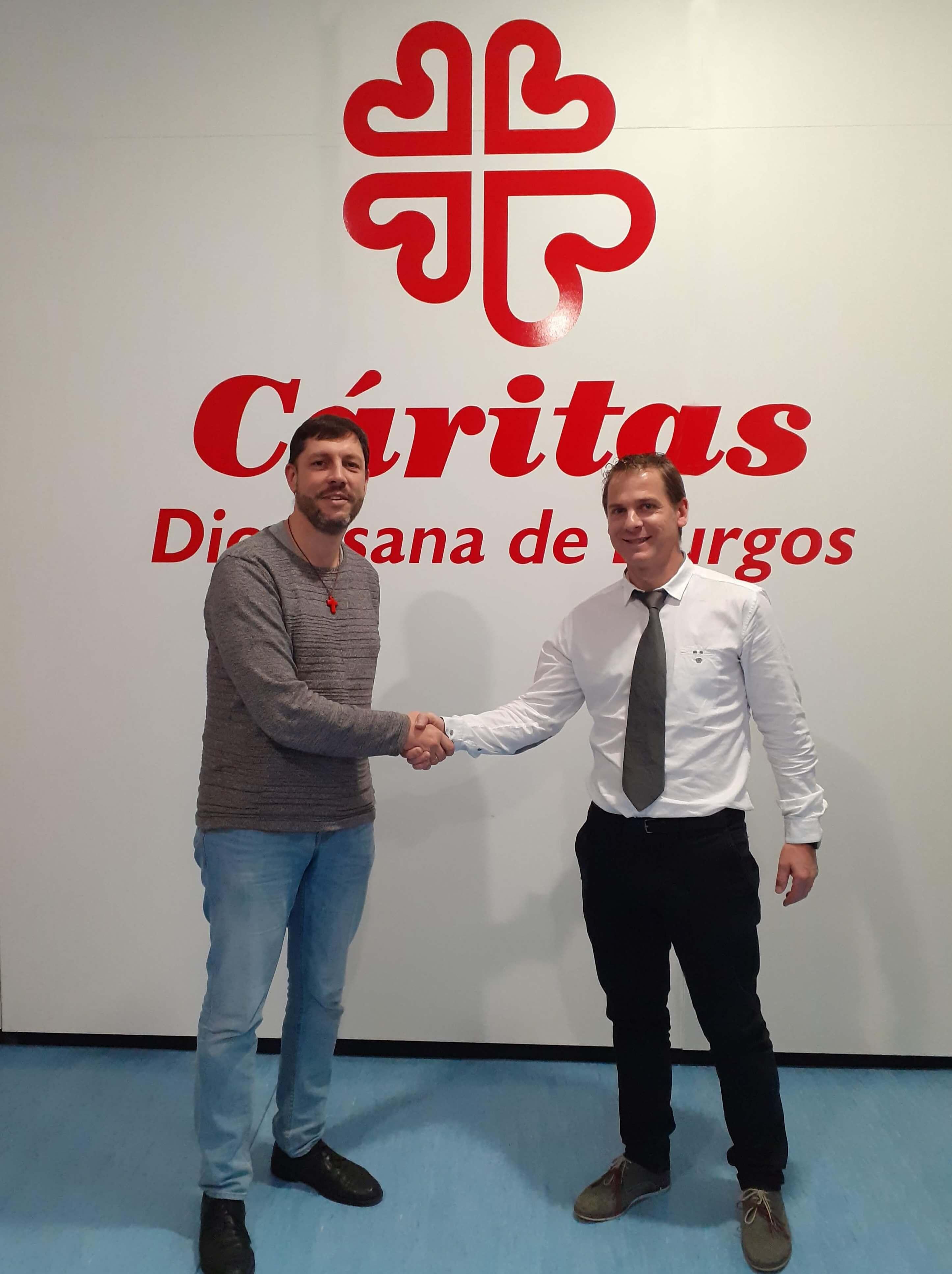Fricaltec destina el dinero de sus regalos navideños a Cáritas Burgos
