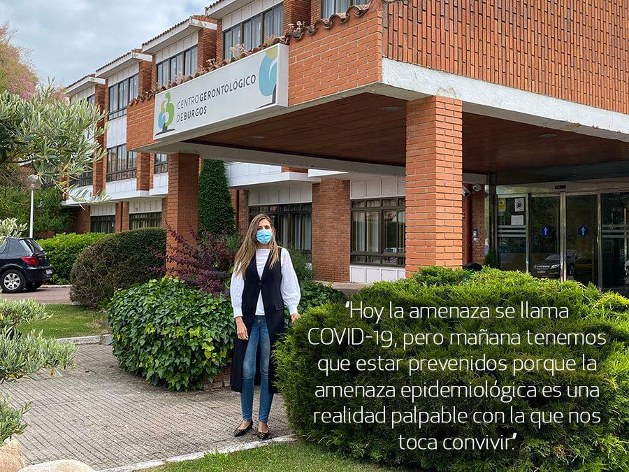 Entrevista a Beatriz Rojo Gonzalez directora del CENTRO GERONTOLÓGICO DE BURGOS