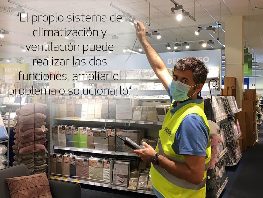Entrevista a Santiago Díaz de Cerio, Ingeniero industrial del departamento técnico de FRICALTEC